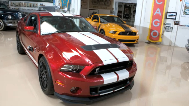 Jay Leno Drives The 2013 Shelby GT500: Video