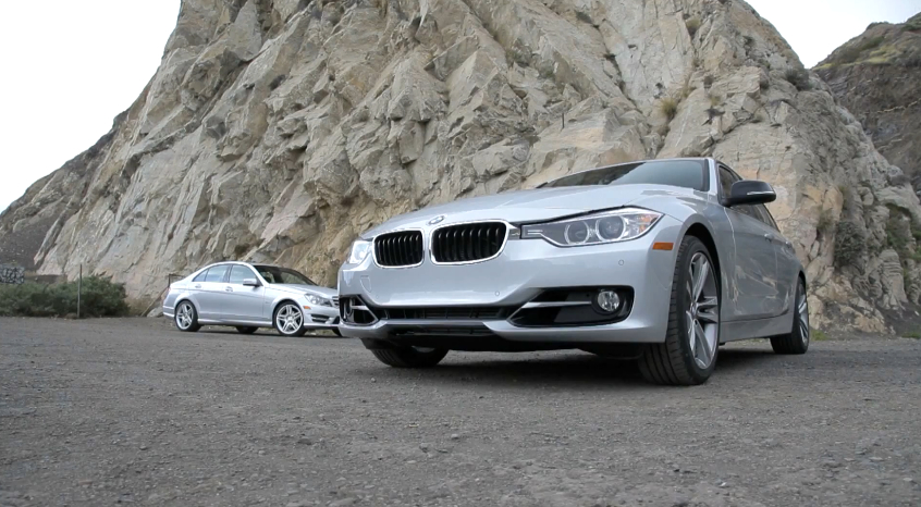 MotorTrend Compares The Mercedes C250 And BMW 328i: Video