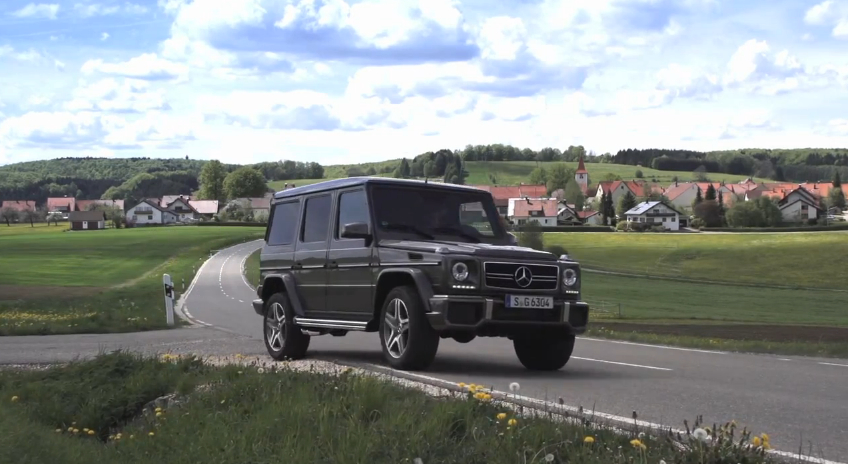 Chris Harris On The Mercedes-Benz G63 AMG Uber-SUV: Video