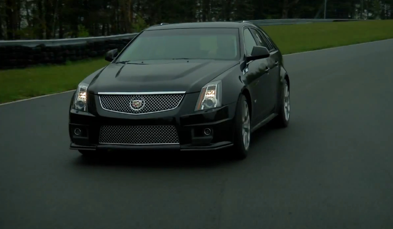 Big Muscle Pits The CTS-V Wagon Against The BMW X5 M: Video