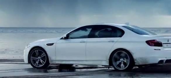 BMW Helps Usher In 2012 Olympic & Paralympic Games in London with Beach Drift Video