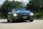 2012 BMW 650i Convertible Headon Action Low Angle Small Done