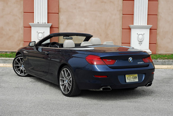 BMW I Convertible Review The Ultimate Tanning Machine - 650i bmw convertible price