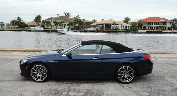 BMW I Convertible Review The Ultimate Tanning Machine - 650 bmw 2012
