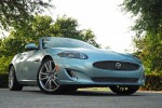 2012 Jaguar XK Convertible Beauty Left Low Angle Done Small
