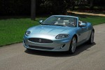 2012 Jaguar XK Convertible Headon Action Hi Angle Done Small