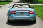 2012 Jaguar XK Convertible Rear Action Done Small