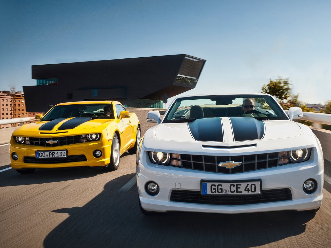 2012 Chevrolet Camaro Graces Europe With Exclusive Styling