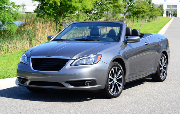 2012 Chrysler 200 S Convertible Review & Test Drive