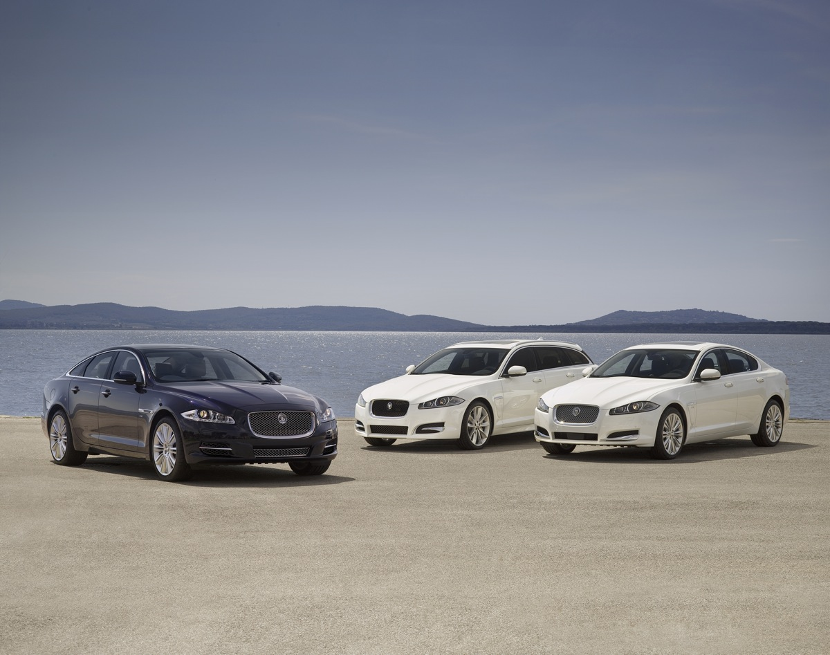 2013 Jaguar XJ, XF Available With Supercharged V-6