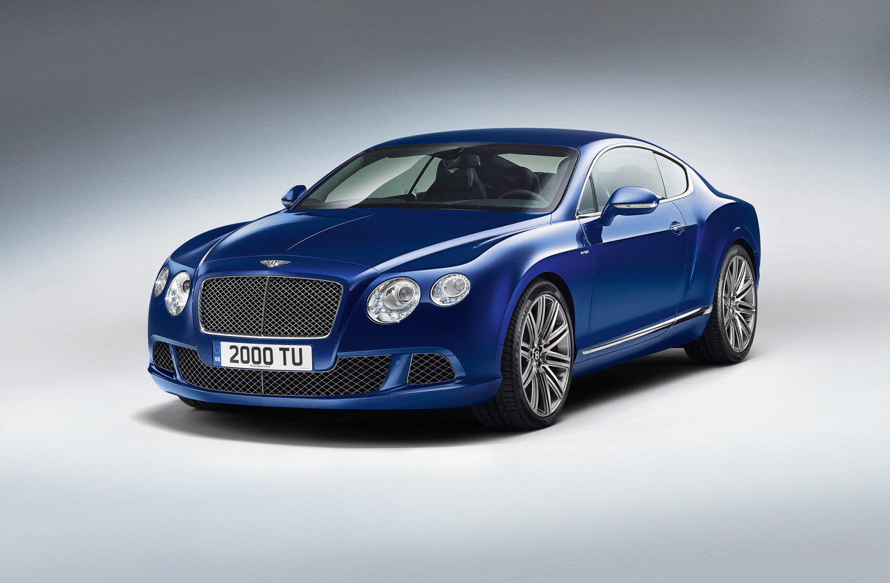 2013 continental gt speed bentley builds their fastest for The bentley