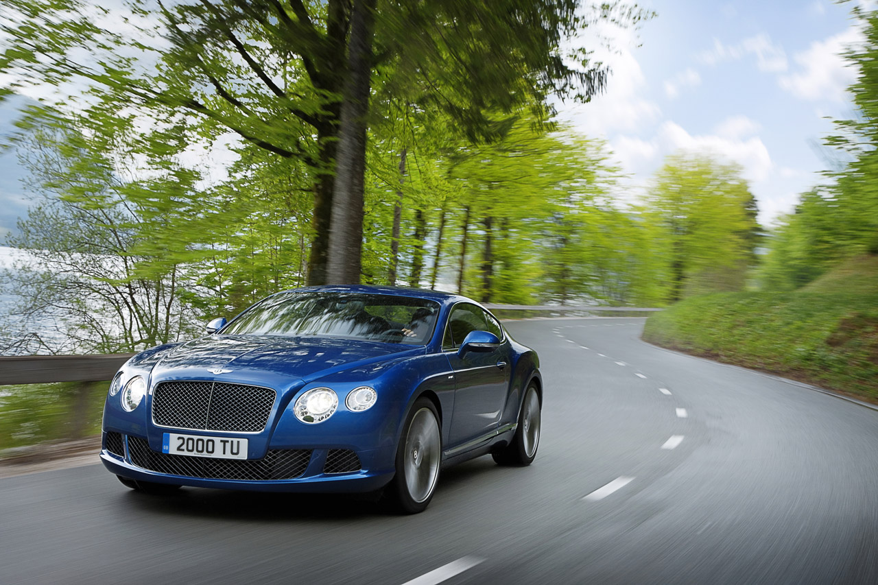 2013 Continental GT Speed: Bentley Builds Their Fastest Production Car w/ 616HP