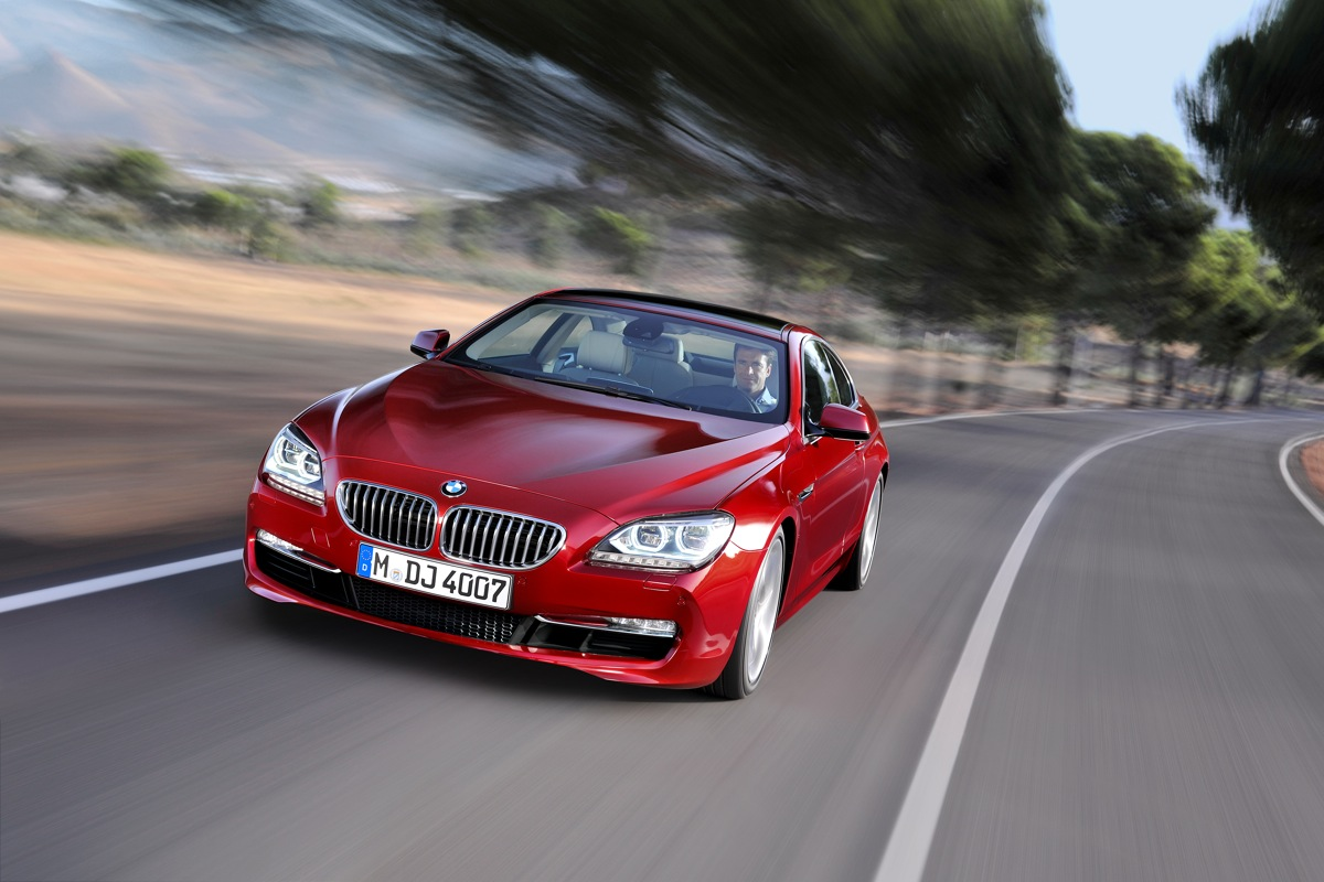 2013 BMW 5 And 6 Series V-8s To Get More Power