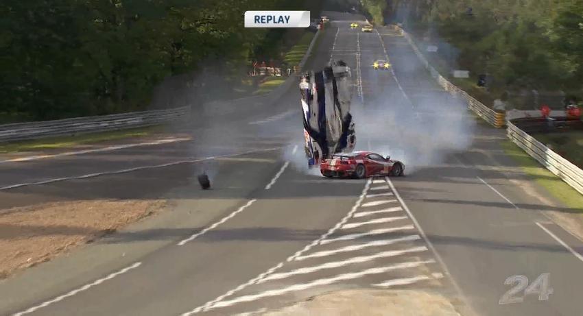 Video Shows Anthony Davidson's Horrific Le Mans Crash