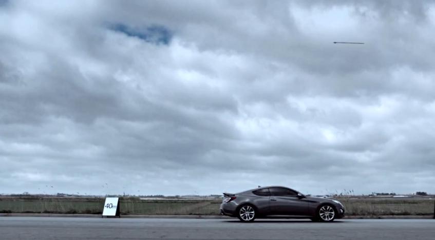 Can A Hyundai Genesis Coupe 3.8 Outrun An Arrow? Video