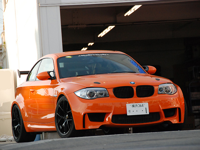 Studie Japan Creates GTS Version of BMW 1M Coupe