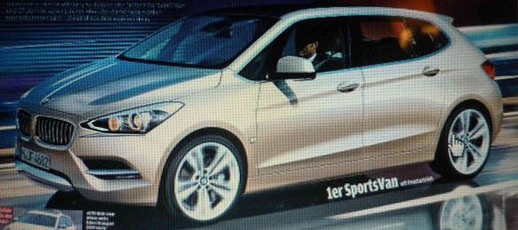 BMW's Front-Wheel Drive 1 Series to Debut at Paris Auto Show