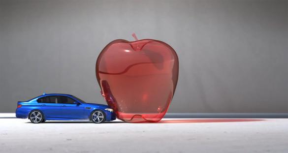 New BMW M5 Recreates Slow-Motion Bullet Effect: Video