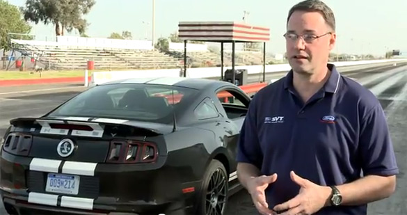 2013 Shelby GT500 Finally Pegs 200MPH: Video
