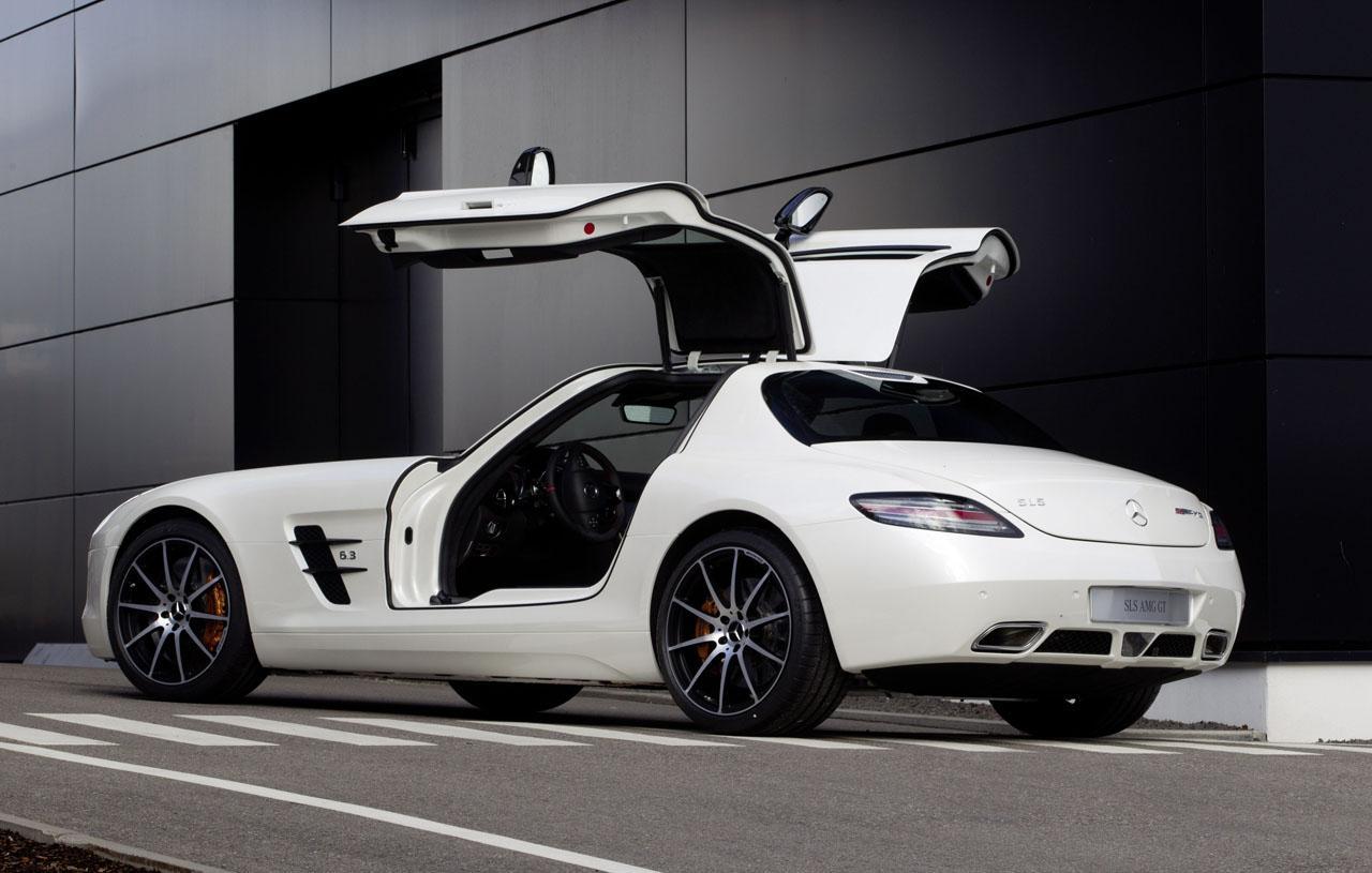 100 Hot Cars 187 Mercedes Sls Amg Gullwing