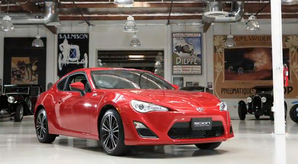 Jay Leno Gives Driving Impressions & Run-Down of New Scion FR-S In His Garage: Video