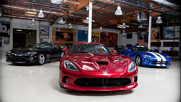 New 2013 Srt Viper Gts In Jay Leno S Garage Video