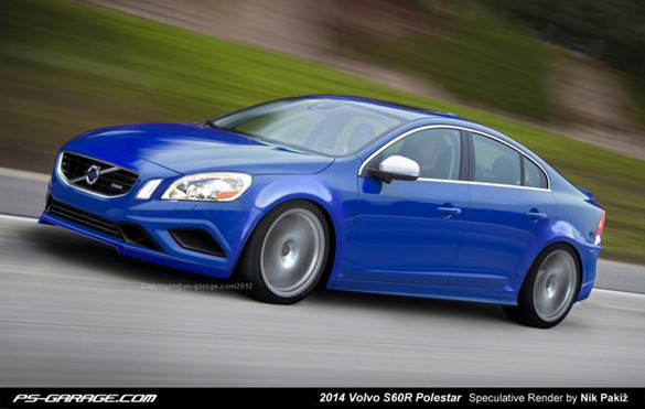 Volvo's Luxury Sport Car (S60R Polestar) Speculatively Rendered To Life