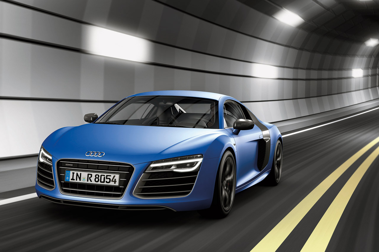 2013 Audi R8 Gets Facelift and New V10 Engine: Details, Images, Videos