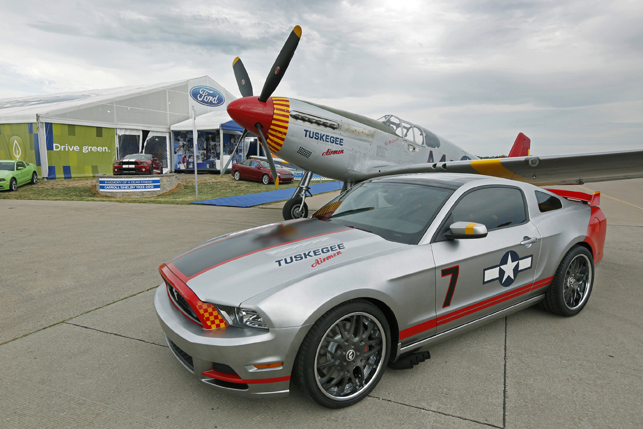 Ford Reveals 'Red Tails' Edition Mustang GT w/Video