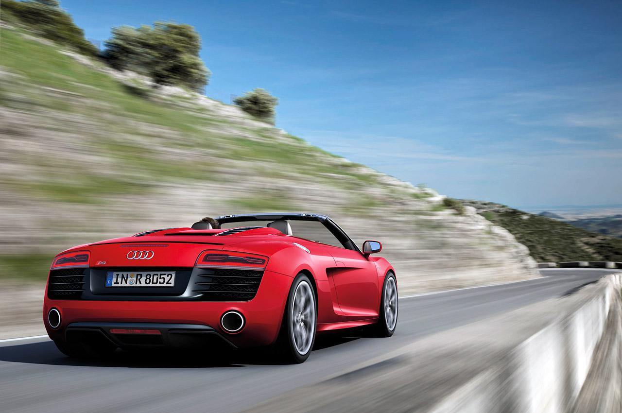 2013 Audi R8 Gets Facelift And New V10 Engine Details Images Videos