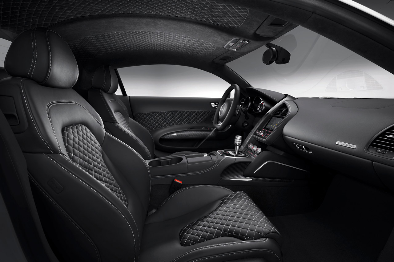A 6 speed manual will still be offered on the 2013 r8 but audi sticks to the claim that the s tronic quipped models will be three tenths of second faster to