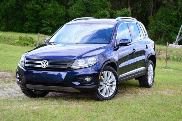 2012 Volkswagen Tiguan SE FWD Review & Test Drive