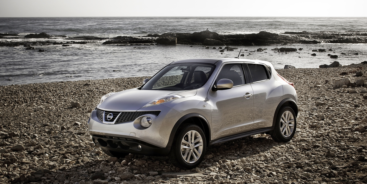 2012 nissan juke review test drive the hip hatchback crossover. Black Bedroom Furniture Sets. Home Design Ideas