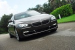 2013 BMW Gran Coupe 640i Headon Action Left Up Done Small
