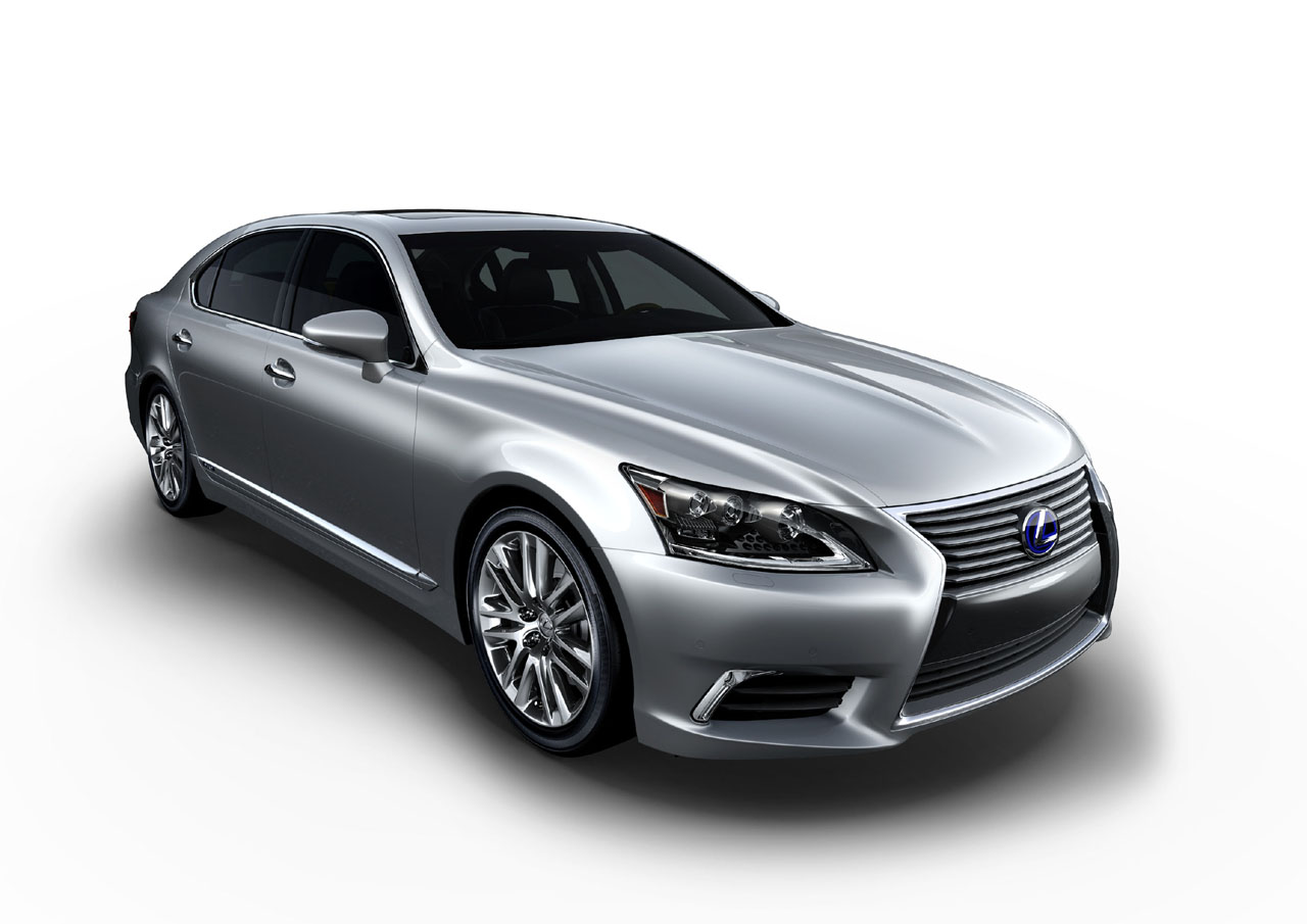 Lexus Adds Sports-Appeal to new 2013 Lexus LS 460 & 600hL Hybrid: Official Release