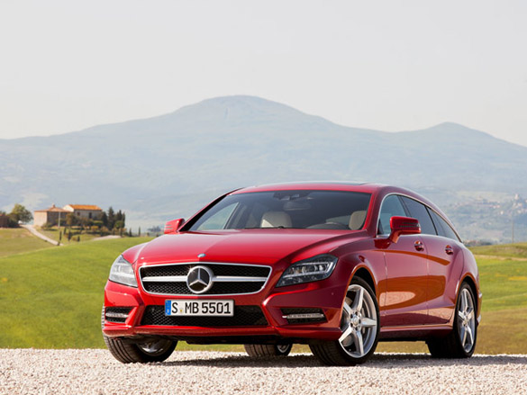 2013 Mercedes-Benz CLS & CLS63 AMG Shooting Brake Officially Uncovered