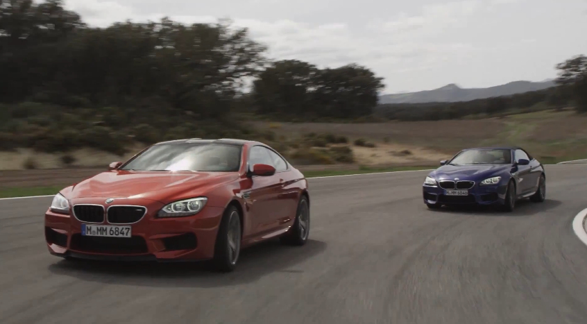 BMW Shows Off The New M6: Video