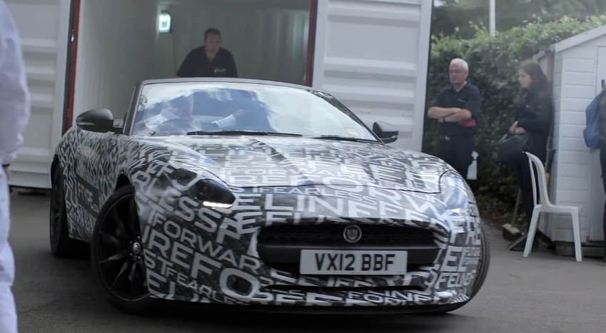 Jaguar Shows Off The New F-Type At Goodwood: Video