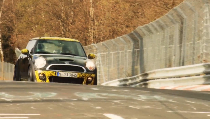 MINI's John Cooper Works GP Laps The Nürburgring In 8:23 – Video