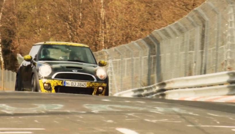 MINI's John Cooper Works GP Laps The Nürburgring In 8:23 – Video