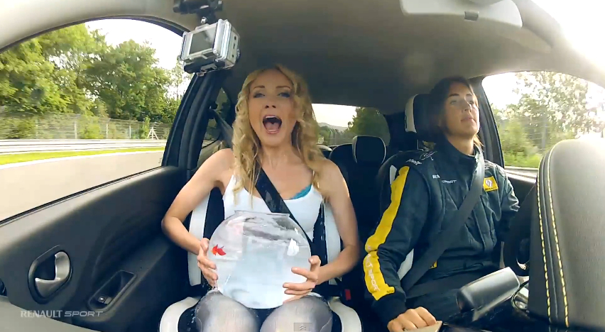 Two Girls, One Bowl… And The Nürburgring: Video