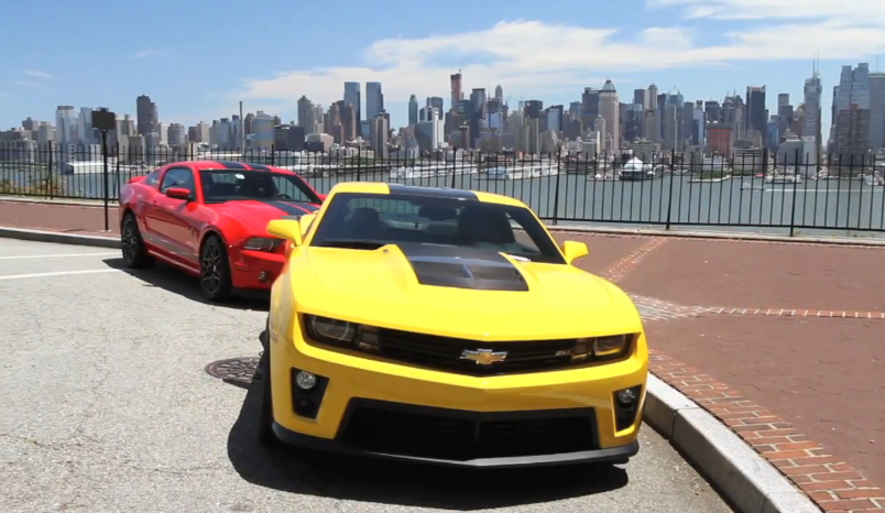Chris Harris Drives America's Fastest Muscle Cars: Video