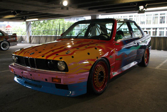 Avid Enthusiast Visits BMW Art Car Collection – London Exhibition Gallery