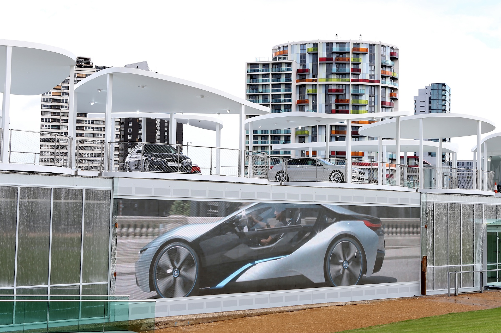 BMW Unveils London 2012 Olympic Park Pavilion: Images