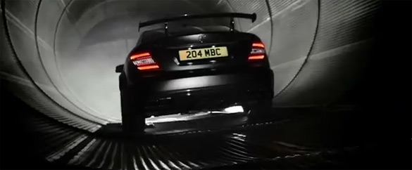 Mercedes-Benz Boasts C63 AMG Coupe Black Series Experience: Video