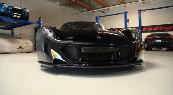 Video: Matt Farah Test Drives World's Fastest Tuned Car – Hennessey Venom GT