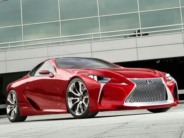 Lexus LF-LC Concept One Step Closer to Becoming a Production Reality