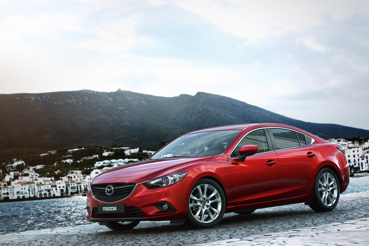 2014 Mazda6 Revealed at Moscow Motor Show