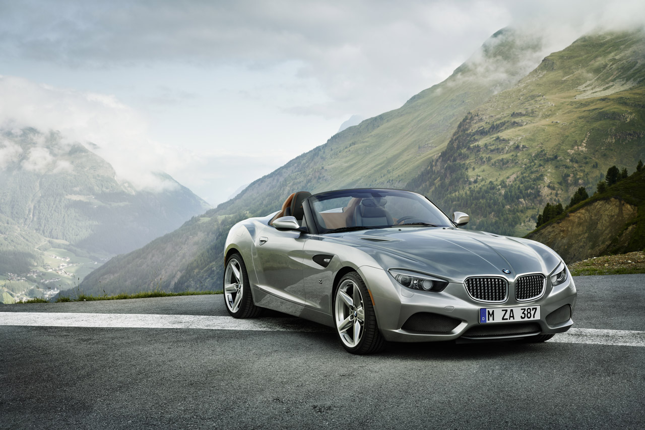 BMW Zagato Roadster Concept Debuts at Pebble Beach