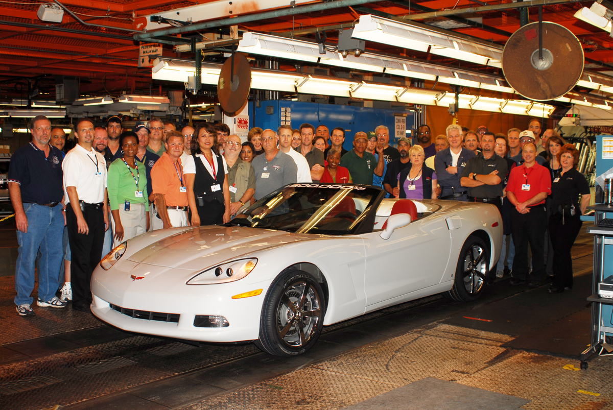 GM Halts Bowling Green Plant Tours To Prep For Build Of New Corvette